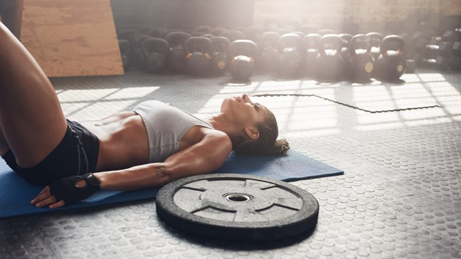 Sonnolento dopo un allenamento